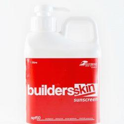 Buildersskin SPF 50+ Suncreen Lotion--1 litre